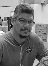 Albert Barela, Warehouse Manager